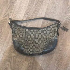 Coach mini c classic hobo shoulder bag